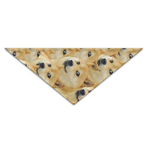 Pet Bandanas Welpen Shiba Hund Muster Dog Bandanas Schals Dreieck Lätzchen Schals Schöne Basic Halstuch