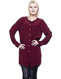 4ed9a7bf7118 Abbino Natalia Lange Blusen Damen Tops - Made in Italy - 5 Farben -  Frühjahr Sommer Herbst Damenblusen Damentops Feminin Spitze…