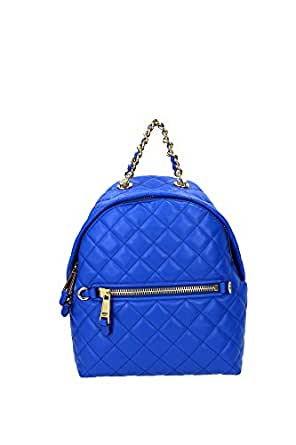 Bags Backpack Moschino Women Leather Blue 2A761380020299 Blue 12.5x23x25 cm