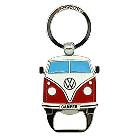 Campervan Keyring Keyfob & Bottle Opener Official Volkswagen Merchandise