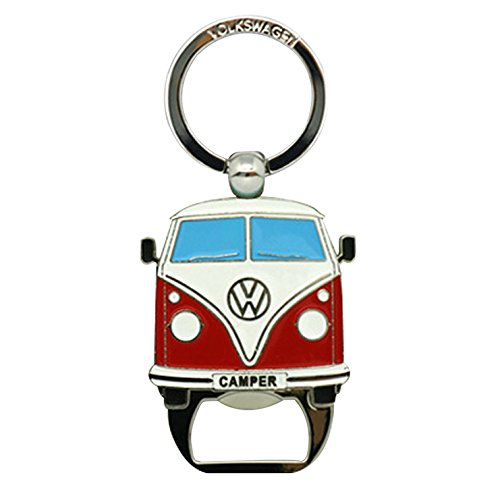 Campervan Keyring Keyfob & Bottle Opener - Official Volkswagen Merchandise