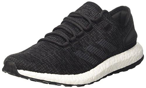 Adidas Pureboost, Herren Laufschuhe, Schwarz (Negbas/grpudg), 44 EU (9.5 UK)