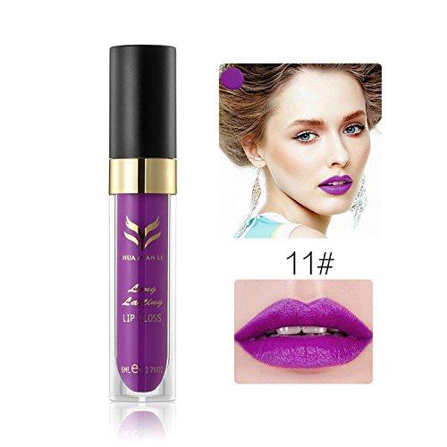 Wasserdichte Matte Liquid Lippenstift Langlebig 12 Farben Lip Gloss Lippenstift f¨¹r Frauen Damen...
