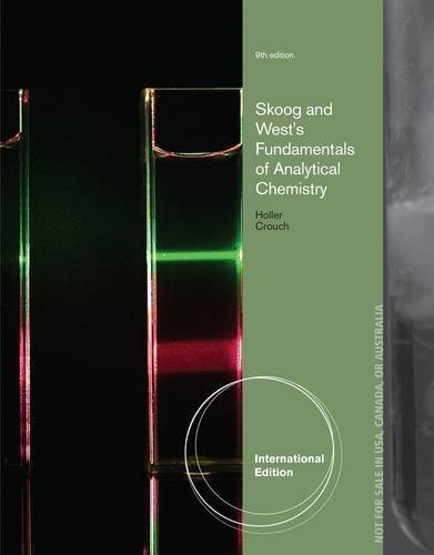 Fundamentals of Analytical Chemistry by Stanley Crouch (2013-01-31)