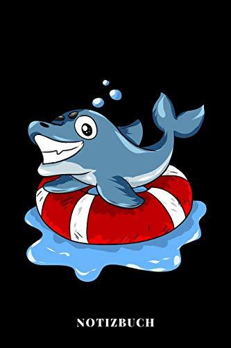 Notizbuch: Rettungsschwimmer Delfin