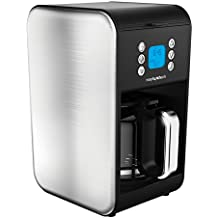 Morphy Richards 162010 Pour Over Filter Coffee Maker, 1.8 Litre, 900 W - Brushed Stainless Steel