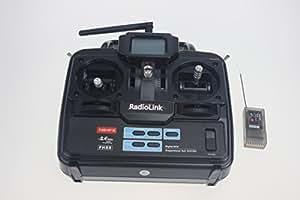 XT-Xinte Transmetteur Radioling T6EHP-E 2.4G 6Ch 6 canaux contrôleur RC et récepteur Futaba 6EX TREX T-REX 450 500