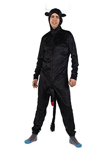 Limit Herren Kostüm Stier Crazy XL (MA812) - Herren Stier Kostüm