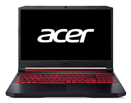 "Acer Nitro 5 - Ordenador Portátil de 15.6"" FullHD (AMD Ryzen 5 3550H, 8GB de RAM, 512GB SSD, AMD Radeon RX 560X, Linux) Negro - Teclado QWERTY Español"