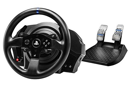 Thrustmaster T300 RS (Lenkrad inkl. 2-Pedalset, Force Feedback, 270° - 1080°, Eco-System, PS4 / PS3 / PC) -