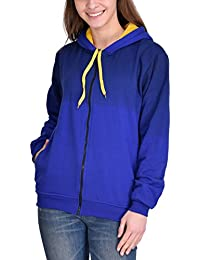 High Hill Women's Hooded Zipper Sweatshirt