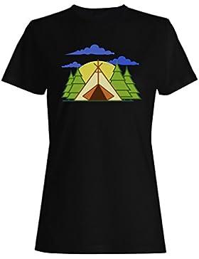 Nueva Colina Al Aire Libre De Camping camiseta de las mujeres l765f