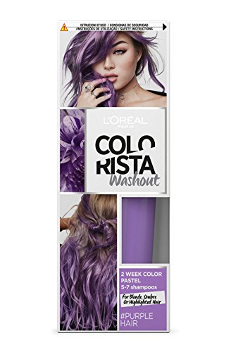 L'Oréal Paris Colorista Washout Pastel, Colorazione Temporanea 2 Settimane, Viola (Purple)