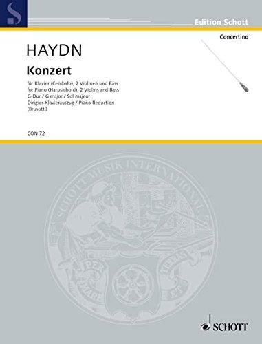 Concerto G Major Hob. XVIII: 9