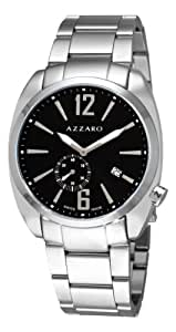 Azzaro Men's AZ1300.14BM.006 Seventies Black Dial Small Second Watch Watch