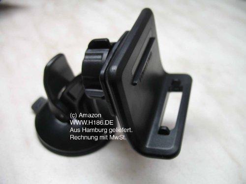 H186 - #93 Kompatibel mit Tomtom Go 1000 1005 1015 PRO 7100 7150 PRO 9100 9150 - KFZ passive Halterung Halter mit Saugfuss für die Frontscheibe 7100-gps-navigation