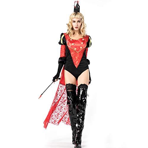 Simmia Halloween Kostüm,Halloween Zauberer Zähmung Kostüm Weibliches Kostüm für Erwachsene Cosplay Nachtclub Bar DS Kostüm, 8866, - Zauberer Kostüm Weiblich