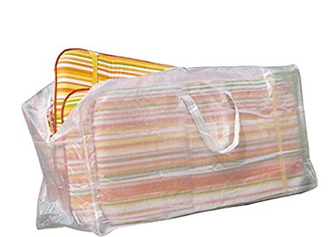 Friedola 15493 Wehncke Housse/Bâche de protection pour 4 garnitures de coussin 125 x 32 x 50 cm