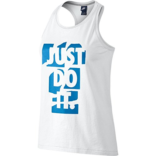 Nike Prep Tank Top White/Lt Photo Blue