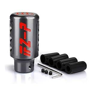 RONSHIN Universal Gear Shift Knob 6 Speed Handle Knob Knob Shift Titanium