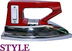 Average Style Heavy Weight 2 kg Side Switch Durable Dry Iron