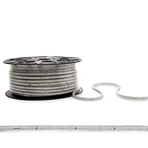 Tira de 60 LEDs/M SMD2835 220VAC IP65 (por Metros)