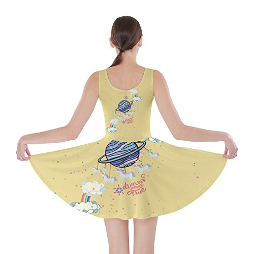 CowCow - Robe - Femme Violet Violet Yellow Rainbow
