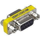 MENGS® 9 pin RS232 DB9 macho para cable de enchufe del adaptador de género cambiador serie masculina