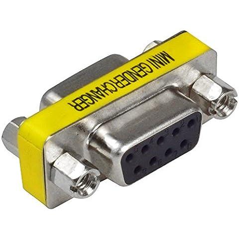 MENGS® 9 pin RS232 DB9 Femmina a Connettore Femmina di