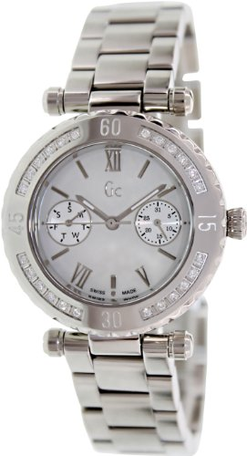 Orologi Guess Collection Gc Diver Chic 24 Diamon X42107l1s Donna Perla