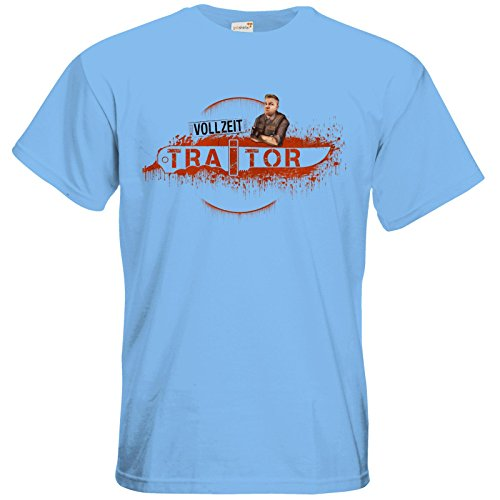 getshirts - Heidelwurst - T-Shirt - Heidelwurst Merch - Curry - Vollzeit Traitor Sky Blue