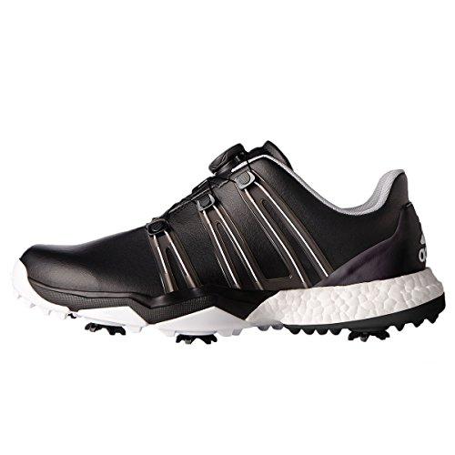 adidas Herren Powerband Boa Boost WD Golfschuhe, Schwarz (Negro F33789), 43 1/3 EU