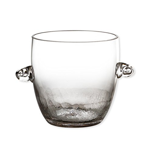Bruno Evrard Seau à glace en verre soufflé bouche 1L - CRACKY