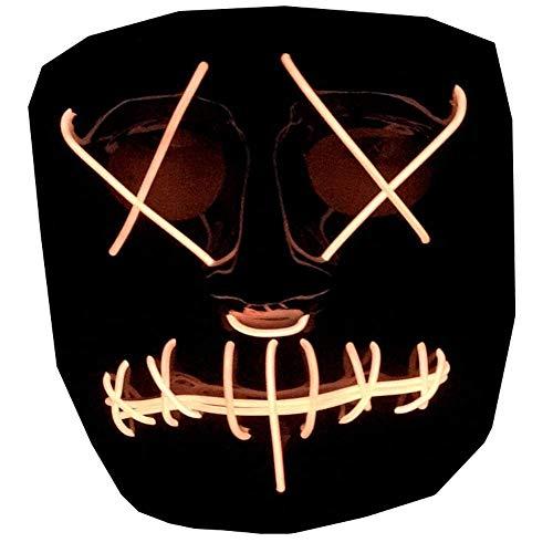 JTIH ® Halloween LED-Licht Kleidung Jacke Weiblich Bühnenkleidung Nachtclub Bar Lässig Kapuzen Baseball Uniform Männlich Liebhaber Flut (10)