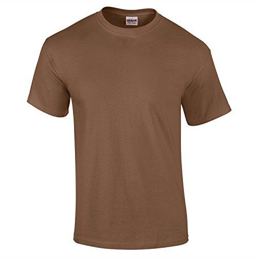 GILDAN -  T-shirt - Uomo Nocciola