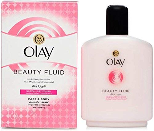 Olay Beauty Fluid (Normal/Dry/Combo) Face & Body Day Moisturizer 200 mL