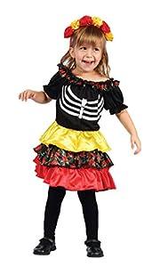 Boland 78112-Disfraz para niños Pequeña Catrina, Otras Juguetes