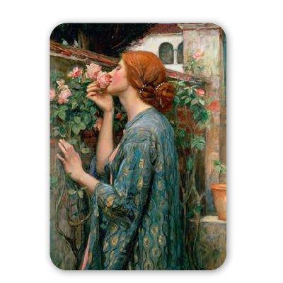 The Soul of the Rose, 1908 (oil on canvas).. - Mousepad - Natürliche Gummimatten bester Qualität - Mouse Mat 1908 Rosen