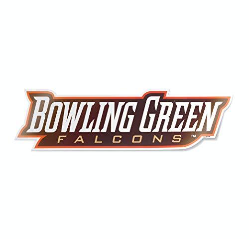 Nudge Printing NCAA University Logos Vinyl-Aufkleber für Autos, Fenster, Bowling Green State University