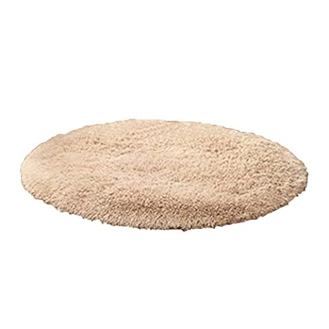 good01 Soft Bath Bedroom Rug Non-slip Floor Shower Plush Round Mat Home Decor