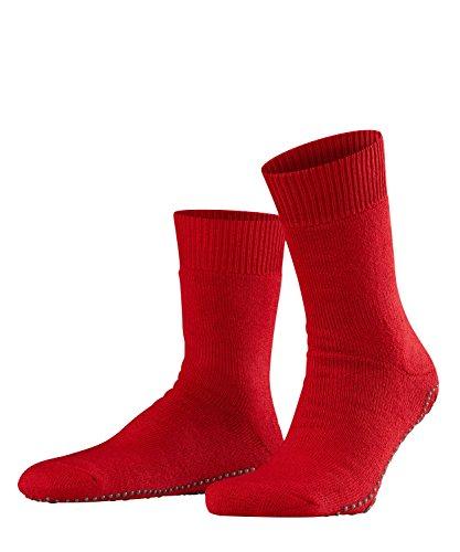 FALKE Unisex - Erwachsene Socke 16500 Homepads SO, Gr. 43-46 , Rot (scarlet 8280)