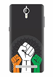 Noise Designer Printed Case / Cover for Panasonic P77 4G / Patterns & Ethnic / India Power Design