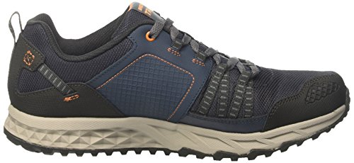 Skechers Herren Escape Plan Laufschuhe Blau (Navy/Orange)