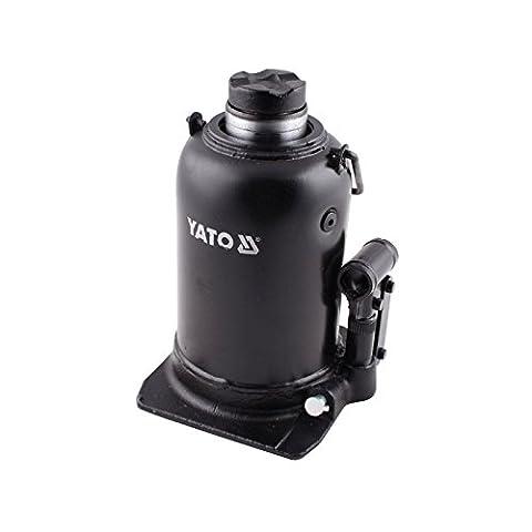 YATO YT-1715-Cric hydraulique 12t piston en deux étapes