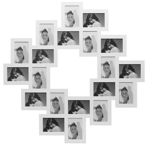 addison ross mehrfach bilderrahmen f r 21 bilder 10x15 holz. Black Bedroom Furniture Sets. Home Design Ideas