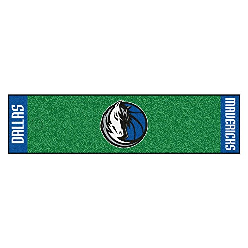 Sports Licensing Solutions, LLC NBA - Dallas Mavericks Putting Green Runner 18