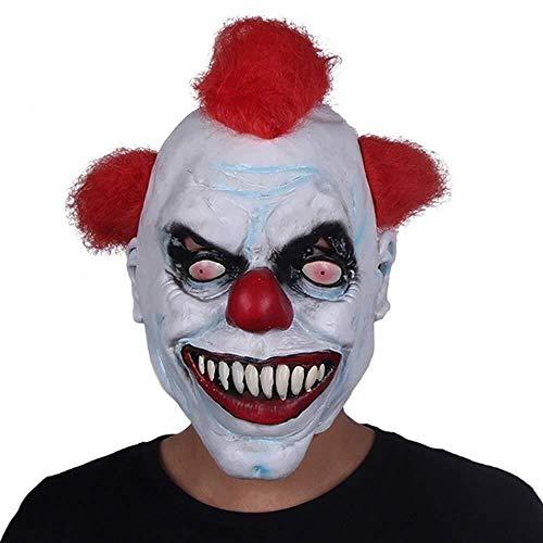 Maske Maskerade Prom Maske Clown Maske männlich Halloween Erwachsene Latex Kopfbedeckung lustig Großhandel Custom Horror Clown Kopfbedeckung - Custom Latex Kostüm