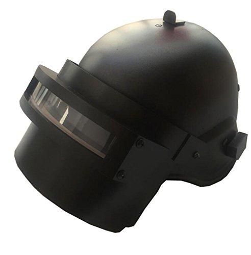 Herren Damen Taille Tasche Bein Oberschenkelholster Tasche Helm Spiel-Charakter Cosplay (Schwarz Helm, One ()