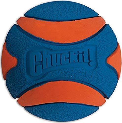 Chuckit! 52068 Ultra Squeaker Ball Medium, 1 Hundeball kompatibel mit ballwerfer, M