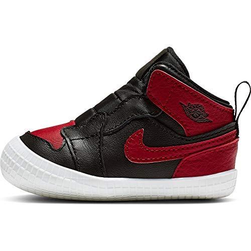 Zapatillas Jordan 1 Crib Bootie Negro 19.5